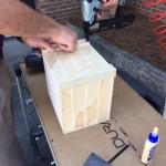 Assembling a flower box