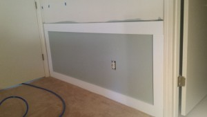 Installing Wainscoting