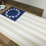 Revbead plywood beadboard flag