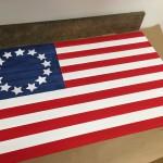 Plywood Beadboard Flag